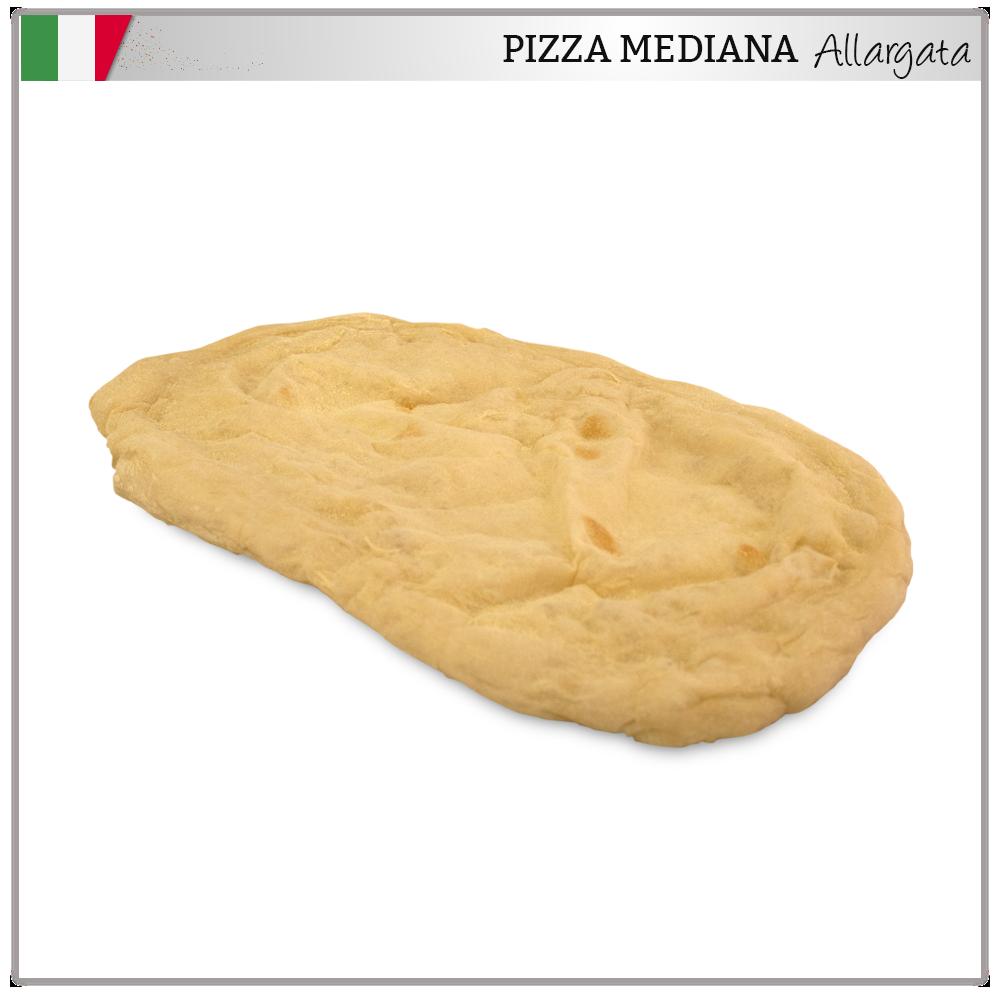 pizza allargata mediana