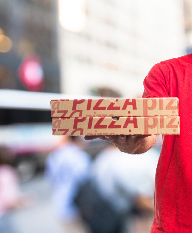 bases de pizza para delivery